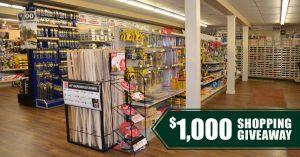 Shop Local and Win $1,000 at Van's