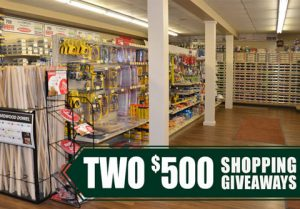 Stop, Shop and Enter to Win!